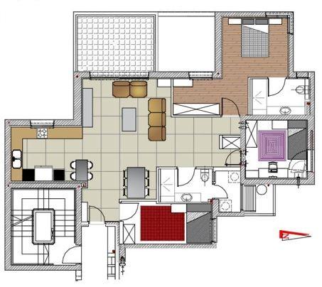 תכנון ועיצוב דירה בחולון - דואט תכנון, עיצוב פנים וניהול שיפוצים