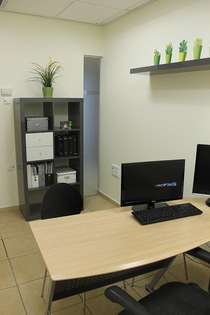 עיצוב משרדי חברת הייטק בקדימה