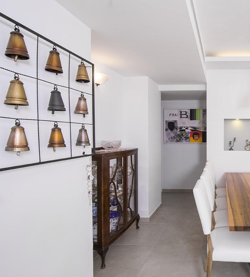 תכנון ועיצוב דירה בחולון - קלאודיה ויסברג ליבנה, יעלי לוי קופל