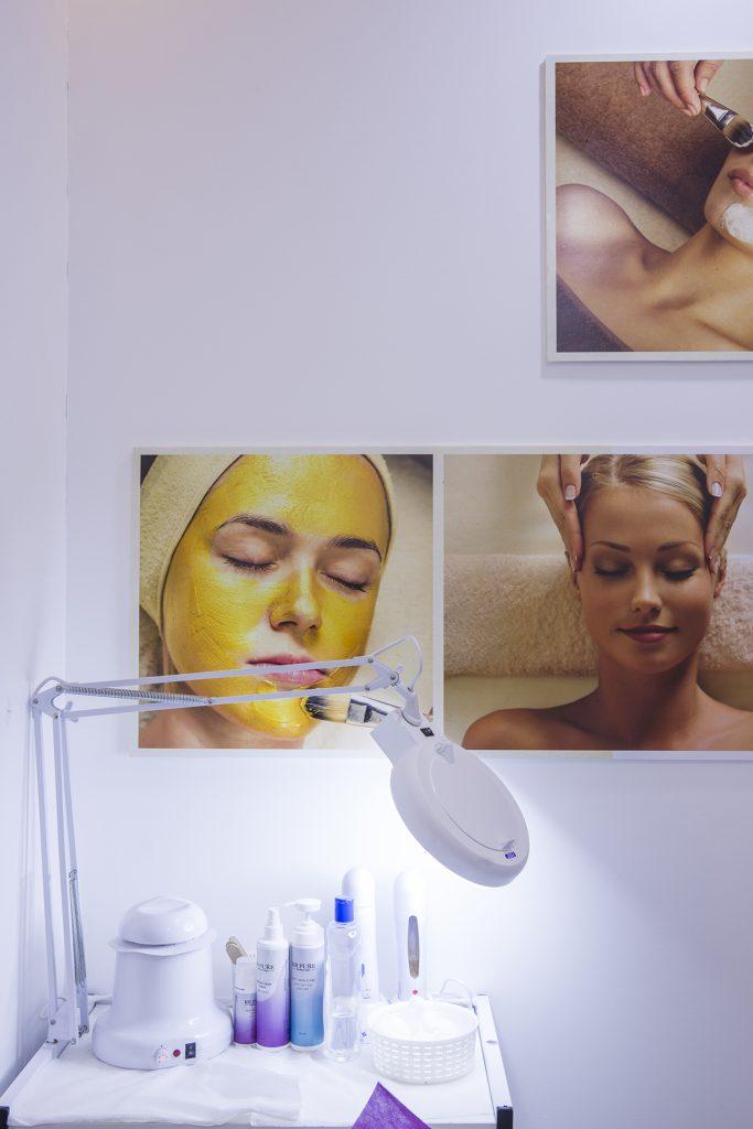 תכנון ועיצוב פנים למכון יופי - דואט - תכנון, עיצוב פנים וניהול שיפוצים